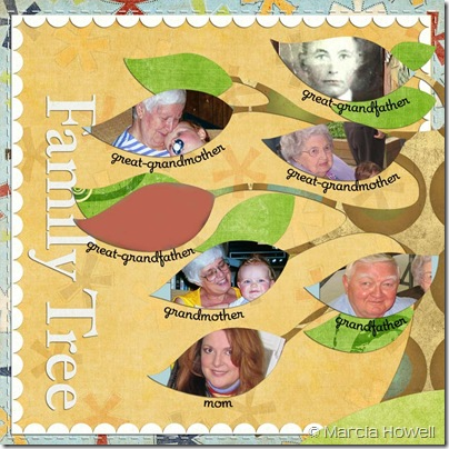 MLH 031208 Asher's Baby Book Family Tree 1